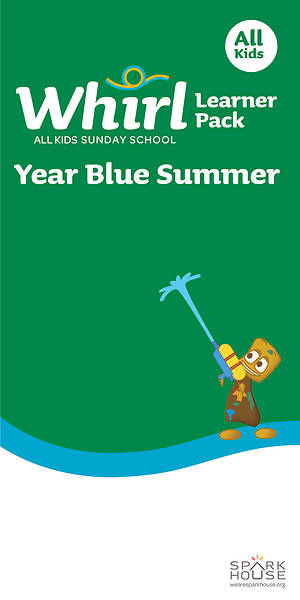 Picture of Whirl All Kids Leaflet Year Blue Summer