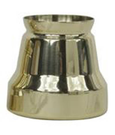 Candle Follower, Polished Brass - 2