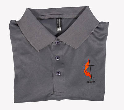Picture of Polo Shirt - 3XL Clergy Cross and Flame