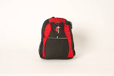 UMC Honey Comb Backpack with Cross & Flame