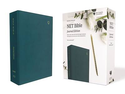 Net Bible, Journal Edition, Leathersoft, Teal, Comfort Print