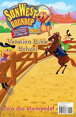 Gospel Light Vacation Bible School 2013 SonWest RoundUp Publicity Poster
