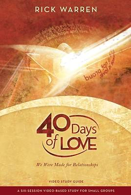 40 Days of Love DVD Study Guide