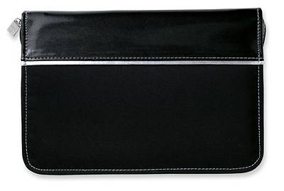 Designer Microfiber Thinline Black Book & Bible Cover