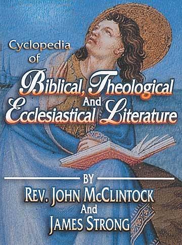 Cyclopedia of Biblical, Theological, and Ecclesiastical Literature on CD-ROM
