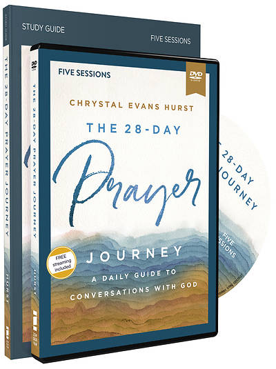 Picture of The 28-Day Prayer Journey Study Guide with DVD