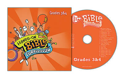 Picture of Hands-On Bible Curriculum Grades 3 & 4 CD Fall 2015