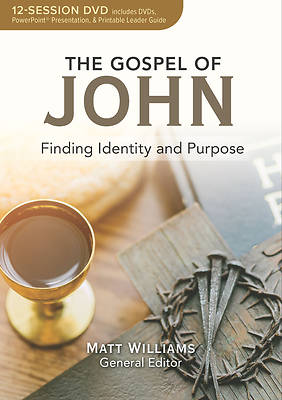 Picture of The Gospel of John 12-Session DVD Bible Study
