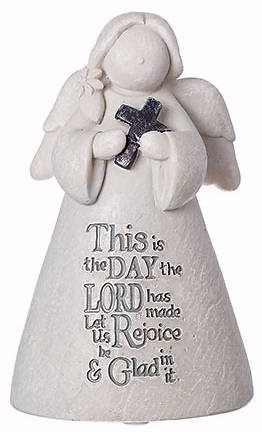 Picture of This is The Day Angel Figurine 3.5""