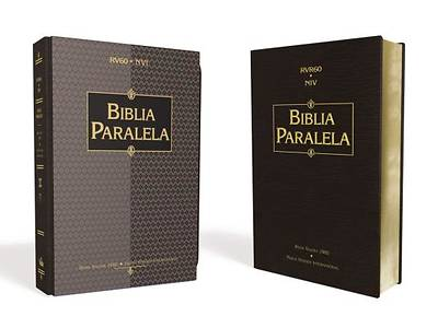 Spanish Parallel Bible RVR 1960/NIV Black Imitation Leather