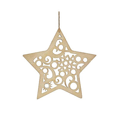 Flourish Star Hanging Ornament