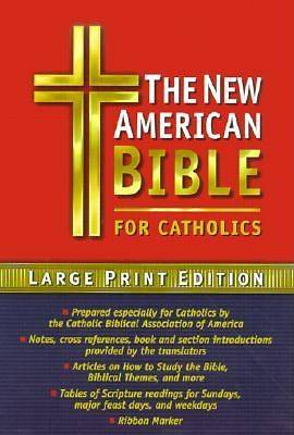 Bible NAB Catholic Large Print