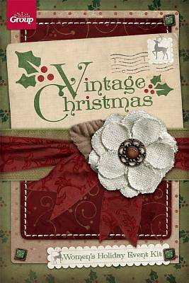 Vintage Christmas Womens Holiday Event Kit
