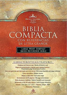 Large Print Compact Reference Bible-RV 1960