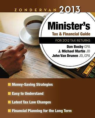 Zondervan 2013 Ministers Tax and Financial Guide