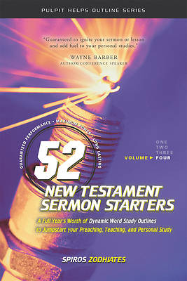 52 New Testament Sermon Starters