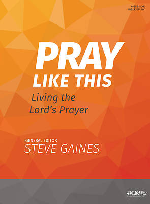 Picture of Pray Like This - Bible Study Book