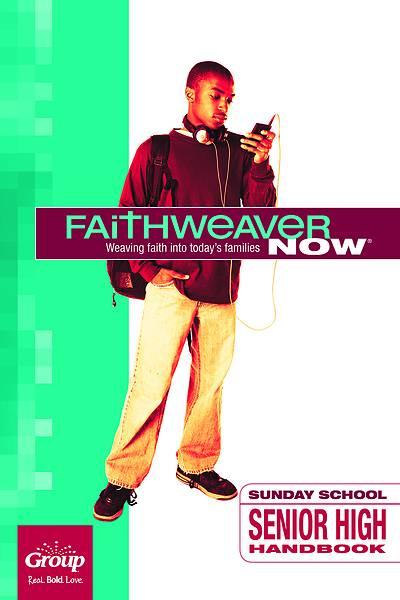 Picture of FaithWeaver Now Senior High Handbook Winter 2020-2021