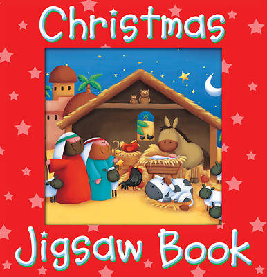 Christmas Jigsaw Book