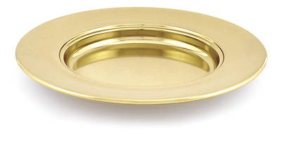 Brasstone Communionware Non-Stacking Bread Plate