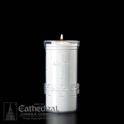 Picture of Cathedral Devotiona-Lites Plastic Offering Lights - 5 Day, Crystal