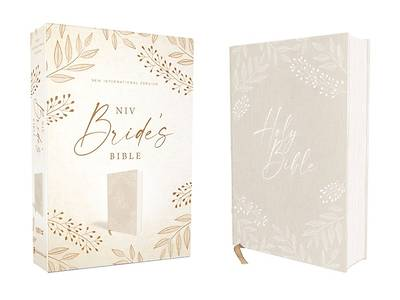 Picture of Niv, Bride's Bible, Cloth Over Board, Cream, Red Letter, Comfort Print