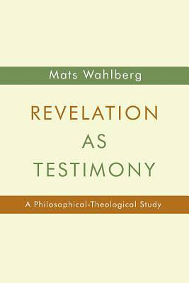 Picture of Revelation as Testimony