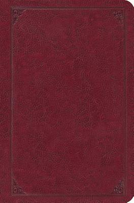 Single Column Legacy Bible (Trutone Burgundy, Frame Design)