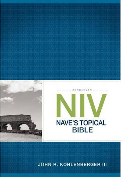 Picture of Zondervan NIV Nave's Topical Bible
