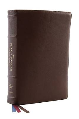 Nkjv, MacArthur Study Bible, 2nd Edition, Premium Goatskin Leather, Black, Premier Collection, Comfort Print