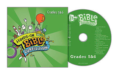 Picture of Hands-On Bible Curriculum Grades 5 & 6 CD Fall 2015