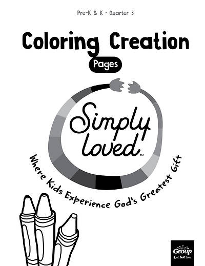 Picture of Simply Loved Q3 PreK-K Coloring Creations