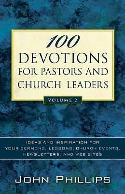 Picture of 100 Devotions for Pastors and Church Leaders, Vol. 2