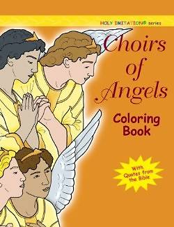 Picture of Choir of Angels Coloring Book