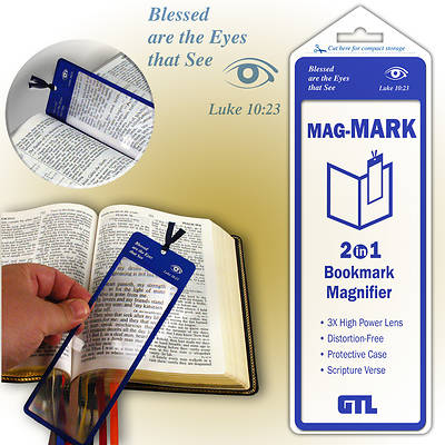 Mag-Mark Magnifier Bookmark