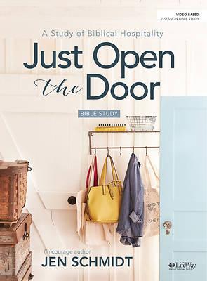 Picture of Just Open the Door - Bible Study Book