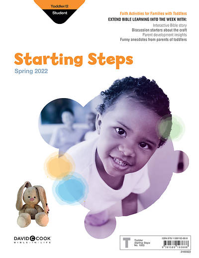 Picture of Bible in Life Toddler Twos Starting Steps Spring