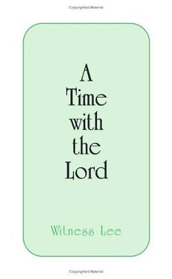 Time with the Lord