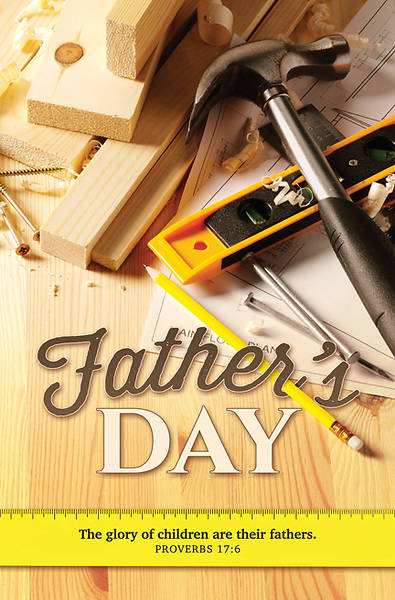 Picture of Father's Day Bulletin - Proverbs 17:6