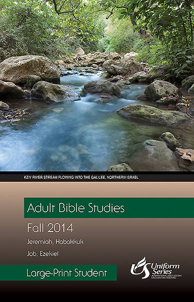 Adult Bible Studies Fall 2014 Student - Large Print