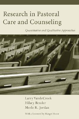 Research in Pastoral Care and Counseling