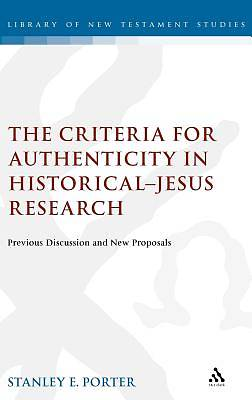 Criteria for Authenticity in Historical-Jesus Research