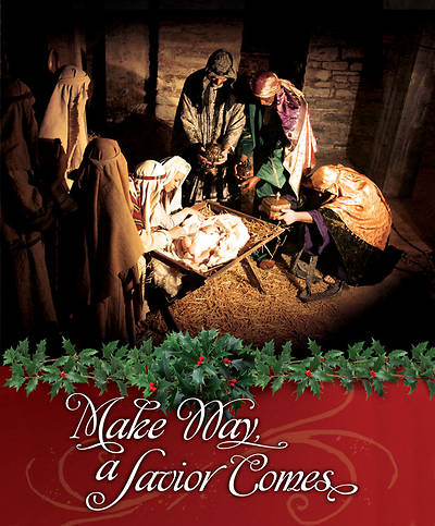 Christmas Bulletin - Make Way, a Savior Comes Regular (Package of 100)