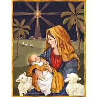 Mother & Child Boxed Christmas Cards by LANG