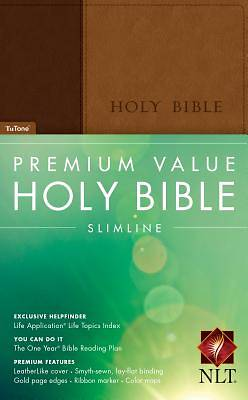 Picture of Premium Value Slimline Bible-NLT
