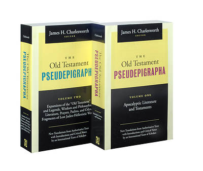 Picture of The Old Testament Pseudepigrapha Volumes 1 & 2