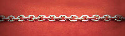 Picture of Artistic Stainless Steel Clergy Chain