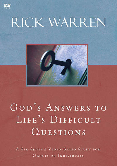 Gods Answers to Lifes Difficult Questions DVD