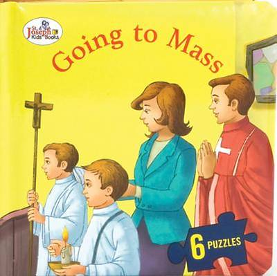 Going to Mass (St. Joseph Beginner Puzzle Book)