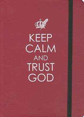 Hc Journal Medium Keep Calm & Trust God
